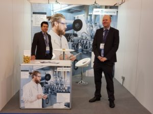 Stand Compounding World_Expo 2018 in Essen